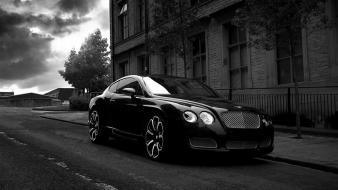 Black bentley continental gt Wallpaper