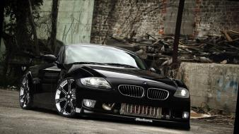 Black tuning bmw z4 coupe wallpaper