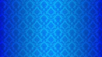 Blue pattern desktop wallpaper