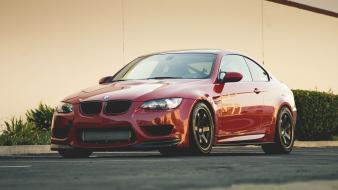 Bmw m3 cars red wallpaper