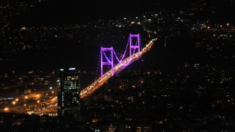 Bosphorus bridge istanbul turkey bridges cities wallpaper