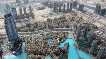 Burj khalifa dubai cityscapes wallpaper