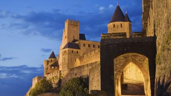 Carcassonne france nature wallpaper