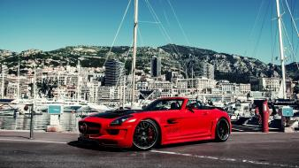 Cars tuning mercedes-benz sls amg hamann hawk roadster wallpaper