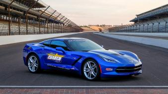 Chevrolet 2014 pace car corvette c7 wallpaper