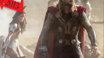 Chris hemsworth thor: the dark world new wallpaper