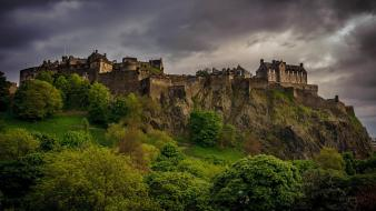 Cliffs buildings historic hdr photography stirling castle wallpaper