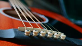 Close-up guitars string blurred background guitar picks martin Wallpaper