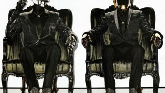 Daft punk chairs wallpaper