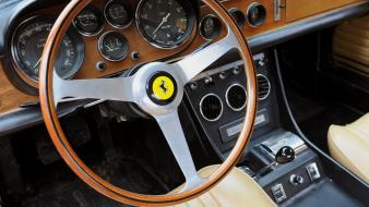 Ferrari 330 gtc cars interior wallpaper