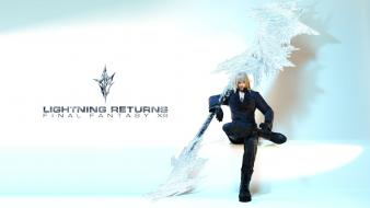 Final fantasy video games xiii lightning wallpaper