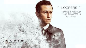 Looper artwork gangsters movies white wallpaper