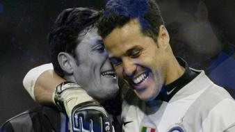 Milano javier zanetti football legend julio cesar wallpaper
