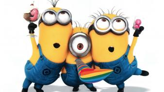 Minions despicable me 2 animated movies wallpaper