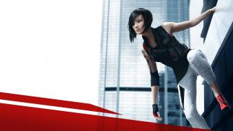 Mirrors edge skyscrapers electronic arts cities 2 Wallpaper