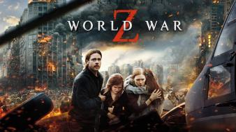 Movies brad pitt world war z zombie apocalypse Wallpaper