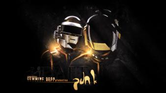 Music daft punk france djs masks electronic Wallpaper