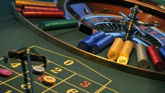 Numbers chips roulette casino gambling wallpaper