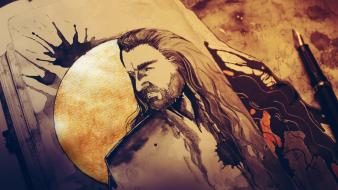 Of rings hobbit fan art thorin oakenshield wallpaper