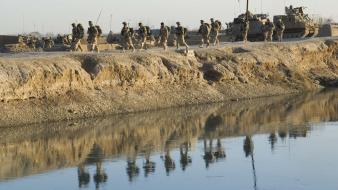 Patrol rivers army nato isaf helmand taliban wallpaper