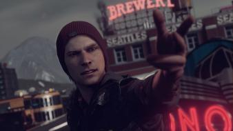 Playstation 4 infamous second son delsin rowe wallpaper