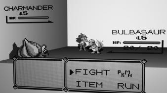 Pokemon video games bulbasaur gameboy battles charmander Wallpaper