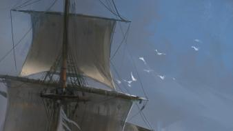 Sailing ships assassins creed 4: black flag wallpaper