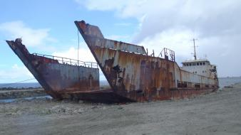 Ships shipwrecks wallpaper