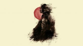 Star wars darth vader fan art wallpaper