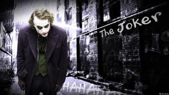 The dark knight joker why so serious? wallpaper