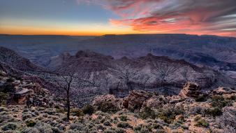 Valleys usa arizona grand canyon hdr photography wallpaper
