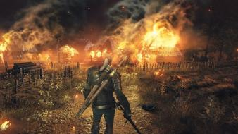 Video games screenshots the witcher 3: wild hunt Wallpaper