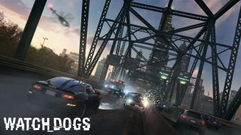 Video games ubisoft vehicles watch dogs wallpaper