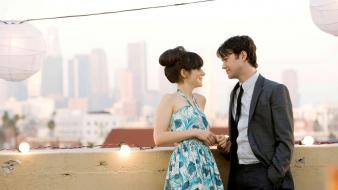 Zooey deschanel 500 days of summer joseph gordon-levitt wallpaper