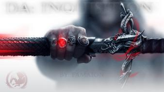 Age inquisition glow swords fist editted famaion wallpaper