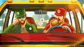 Apple luigi mario nintendo shigeru miyamoto wallpaper
