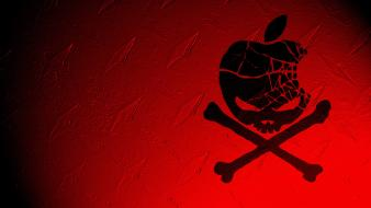 Apple skull wallpaper