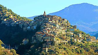 Apricale italia italy cities landscapes wallpaper