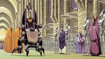 Artwork wars: the phantom menace doug chiang wallpaper