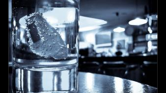Bar drinks glass ice wallpaper