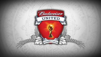 Beers alcohol budweiser fifa world cup logos 2010 wallpaper