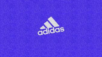 Blue adidas brands logos wallpaper