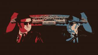 Brown john belushi the blues brothers movies wallpaper