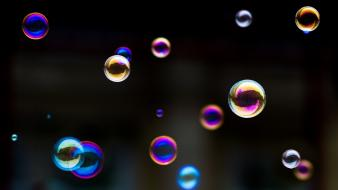Bubbles photography wallpaper