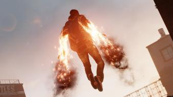 Burning playstation 4 second son delsin rowe Wallpaper