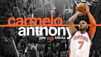 Carmelo anthony nba new york knicks basketball player wallpaper