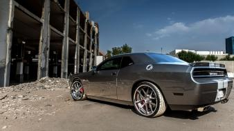 Cars dodge challenger srt8 adv1 wheels muscle car wallpaper