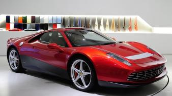 Cars ferrari sp12 ec supercar wallpaper