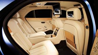 Cars interior bentley mulsanne Wallpaper