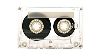 Cassette music sound tape recorders wallpaper